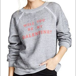 WILDFOX Galentine Super Soft Sweater Small NWT